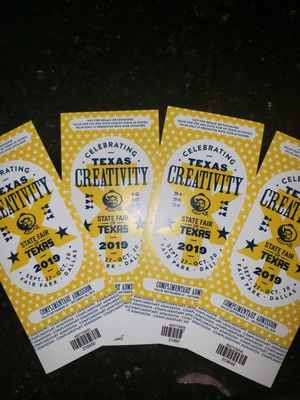 State Fair tickets!! for Sale in Haltom City, TX