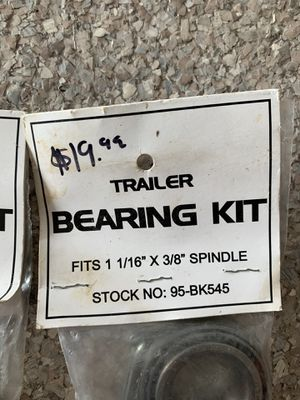 Complete Trailer Bearing Kit for Sale in Naples, FL