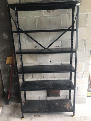 Metal storage shelf for Sale in Oakhurst, NJ