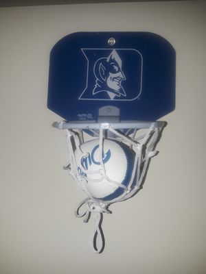 Duke stick on basketball hoop for Sale in High Point, NC