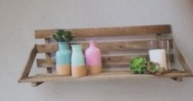 Brand New- Rustic Wood Shelf for Sale in Brooklyn, NY
