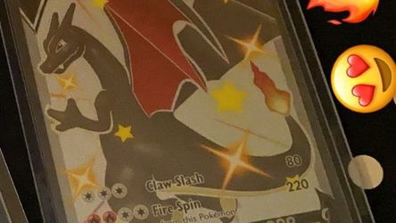 Shiny Charizard V Sleeved Immediately for Sale in Tualatin,  OR