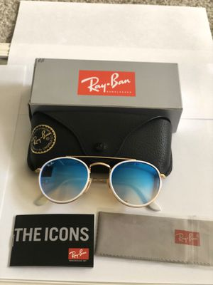 Ray ban unisex Rb3647-N 001/40 Round Double Bridge 51 mm for Sale in Schaumburg, IL