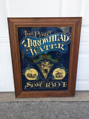 Arrowhead Spring Water Wall Mirror for Sale in Duluth, GA