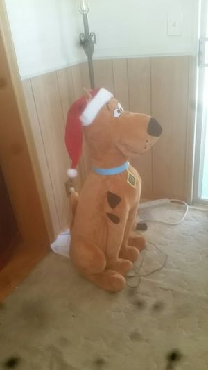 Lifesize animated christmas Scooby-Doo for Sale in Santee, CA