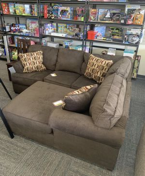 Brand New Ashley Sectional and Chaise Wings. No Down Payment with Financing. Sectional wing has one small coil defect. They can be sold or Used separ for Sale in Chesapeake, VA