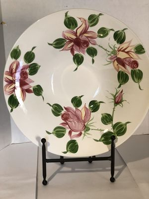 Decorative Floral Plate with Stand for Sale in Palmdale, CA