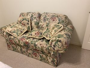 Wide two place love seat for Sale in Vero Beach, FL