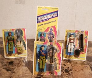 Lanard The Corps! Lot Of 4 - 1990s Action Figures for Sale in St. Louis, MO