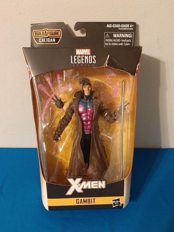 Marvel Hasbro Legends Series 6-inch Collectible Action Figure Gambit Toy (X-Men.