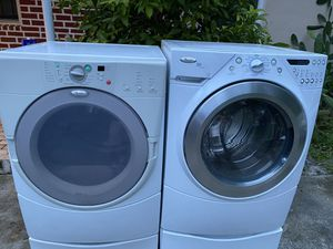 WASHER END DRYER SET WHIRLPOOL DUET for Sale in Miami, FL