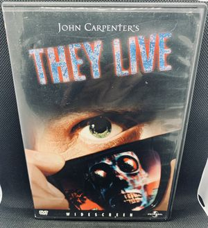 THEY LIVE DVD John Carpenter OBEY Roddy Piper WWF WWE Rare HTF OOP for Sale in Puyallup, WA