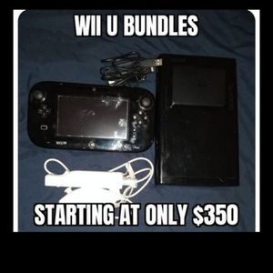 Nintendo Wii U W Every Wii U Game And Much More..... for Sale in Las Vegas, NV