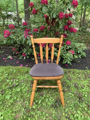 Solid wood chair for Sale in Shamong, NJ