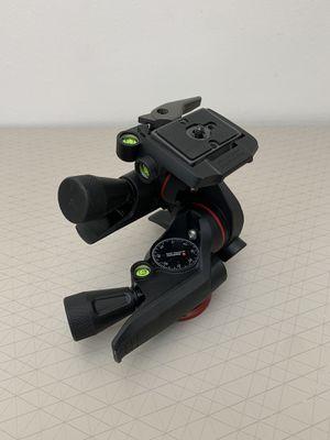 << OPEN BOX >> Manfrotto Tripod Head MHXPRO-3WG Geared 3-Way Pan/Tilt Head , Black. for Sale in Miami, FL