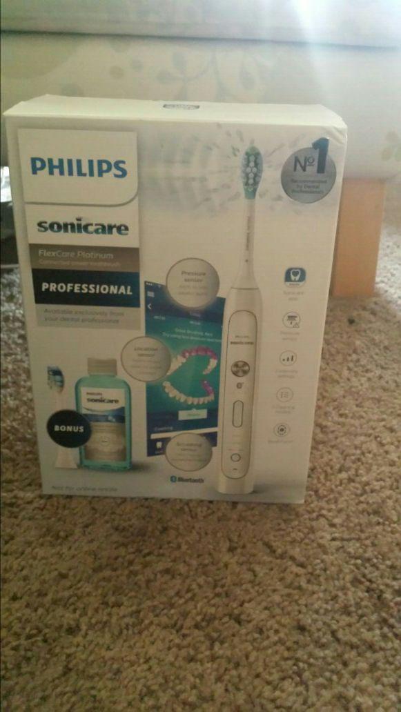 Phillips Bluetooth Sonicare toothbrush set