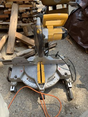 Dewalt miter saw for Sale in Pittsburgh, PA