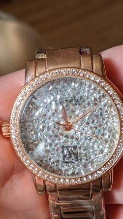 New Victoria Wieck Rose Gold Tone Simulated Diamond Watch for Sale in Elkridge,  MD