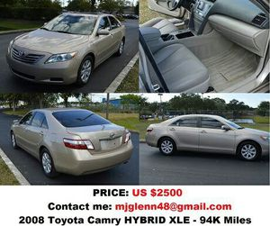 2008 Toyota Camry HYBRID XLE for Sale in Pittsburgh, PA