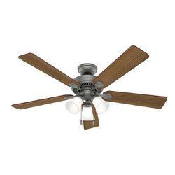 Swanson Ceiling Fan with LED Bowl Indoor Ventilador Lampara Abanico de Techo 52 in Hunter 50894 for Sale in Doral,  FL