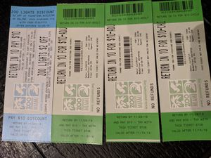 Miami zoo discount tickets for Sale in Margate, FL