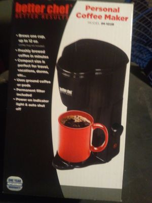 One cup coffee maker for Sale in Ontario, CA