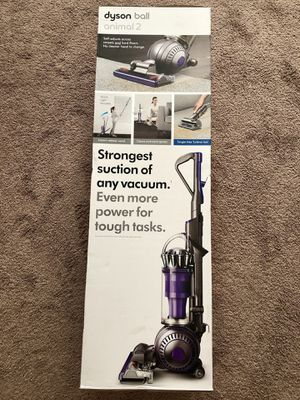 Dyson - Ball Animal 2 Bagless Upright Vacuum - Iron/Purple for Sale in Ontario, CA