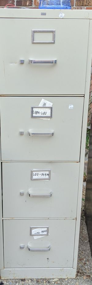 Various filing cabinets for Sale in Baton Rouge, LA