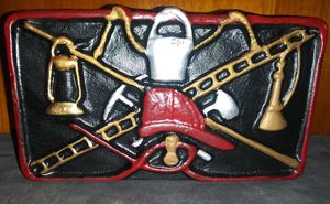 Cast Iron Door Stop Fireman Display for Sale in Pulaski, TN