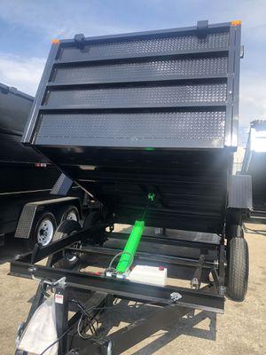 8x12x4 DUMP TRAILER NATM CERTIFIED for Sale in Phoenix, AZ