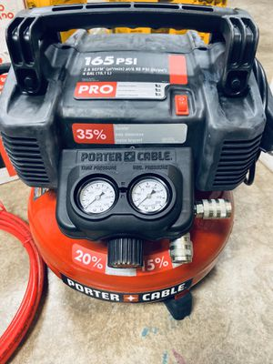 New porter cable air compressor for Sale in Mesquite, TX