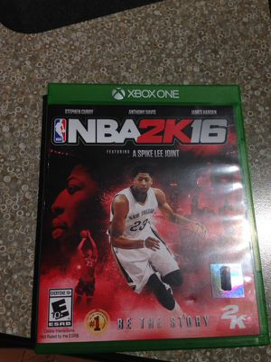 NBA 2k16 Xbox one for Sale in Lake Stevens, WA