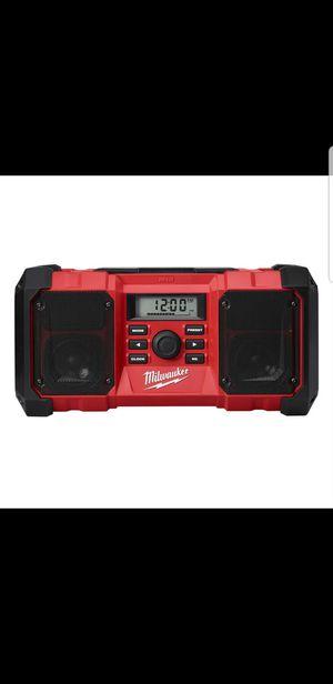 Milwaukee Jobsight Radio for Sale in Lacon, IL