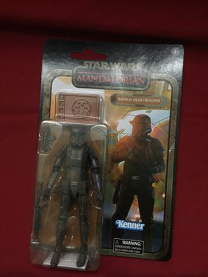 Star Wars the black series credit collection imperial that trooper 6 inch Mandalorian action figure for Sale in Fountain Valley, CA