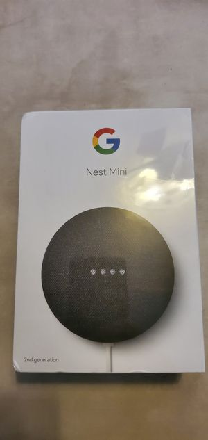 Google nest mini second generation, brand new in box for Sale in Palm Bay, FL