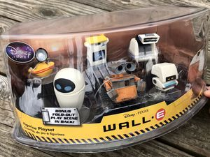 Wall-E Collectible Playset Disney Pixar Rare Figurines Action Figures for Sale in Woodbridge Township, NJ