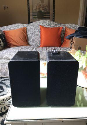 Insignia bookshelf speakers for Sale in Tacoma, WA