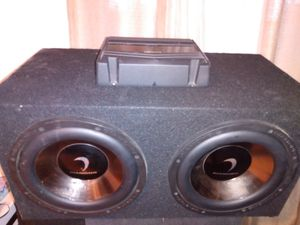 **Tw0.10s//Kenwood amp** for Sale in San Diego, CA