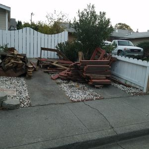 Free Wood for Sale in Fairfield, CA