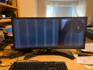 LG ultrawide curved IPS monitor for parts for Sale in Bellevue, WA