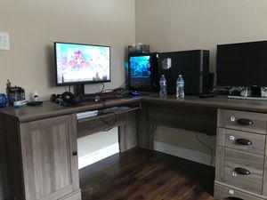 Office desk gaming desk for Sale in Lemont, IL