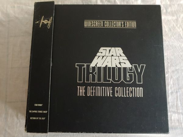 Star Wars Trilogy on Laserdisc