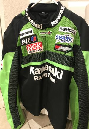 Kawasaki Motorcycle Jacket $150 - 2XL for Sale in Leander, TX