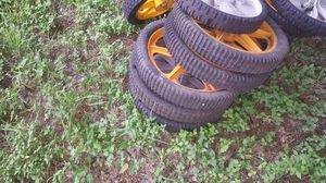 Mower lawnmower mowers lawnmowers lawn mowers tires mower for Sale in Kirby, TX