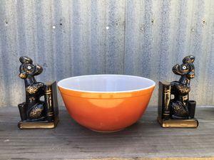 Pyrex Ombré Orange 403 nesting Bowl for Sale in Marina, CA