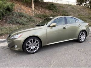 Limited Edition Green IS 250 Lexus Clean in Great Condition for Sale in Mission Viejo, CA