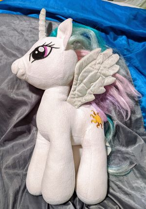 Build a Bear My Little Pony Friendship is Magic Celestia Plushie for Sale in Vancouver, WA