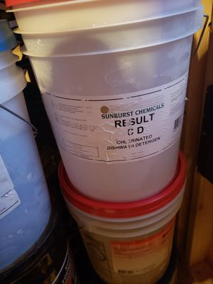 CD dishwashers Detergent - 5 Gal. for Sale in Columbus, OH