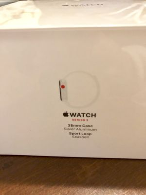 NEW 38mm Apple Watch Series 3 GPS + Cellular for Sale in San Francisco, CA