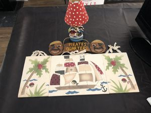Pirates cove decor for Sale in Pembroke Pines, FL